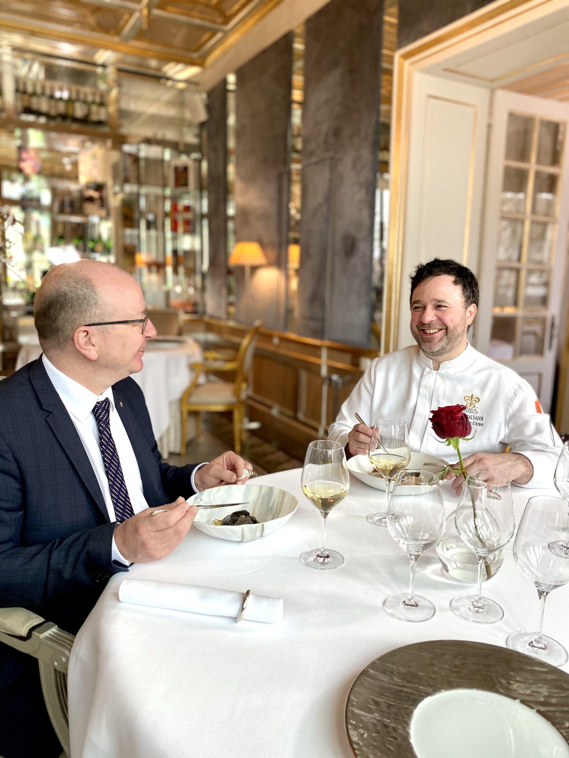 Un dîner avec le Chef Fabrice Salvador